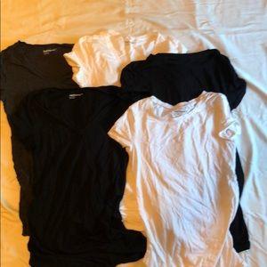 Gap maternity short sleeve t shirt bundle